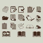Znak ikony dokumenty