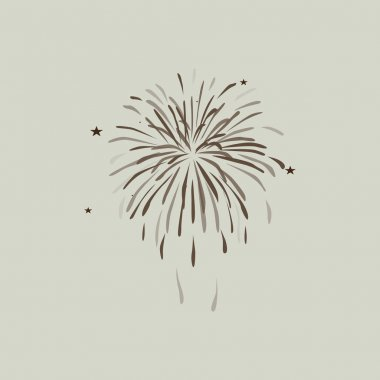 firework icon sign