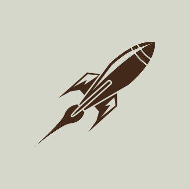 Rocket simple icon