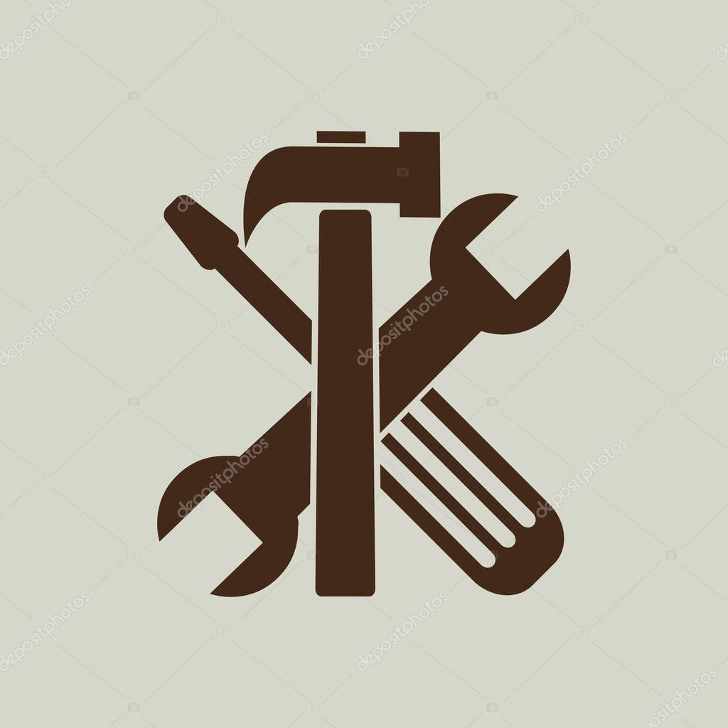 tools icon sign