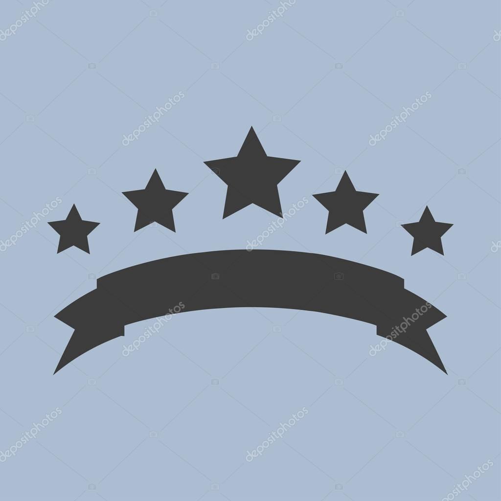 stars icon  illustration
