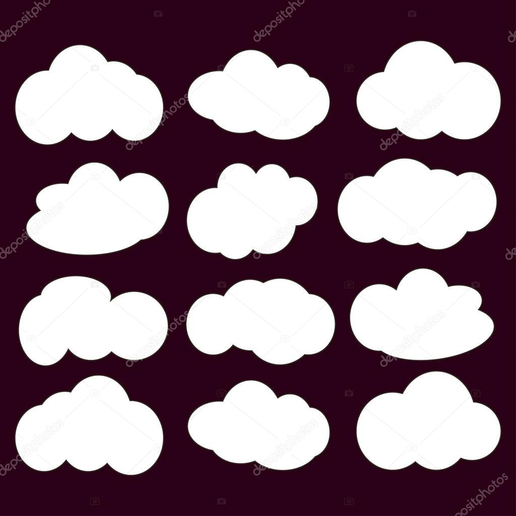 cloud icon   illustration