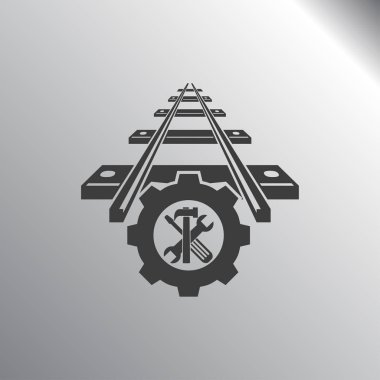 repair of railway icon