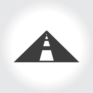 Illustration of road icon