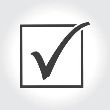 Agreement check mark icon