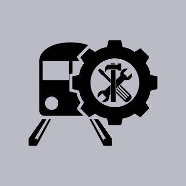 Train icon icon