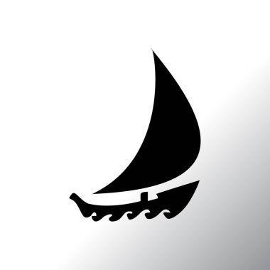 boat flat icon