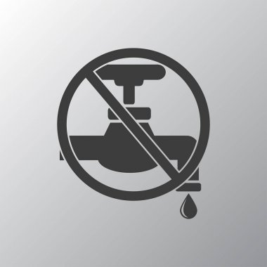 Save water sign