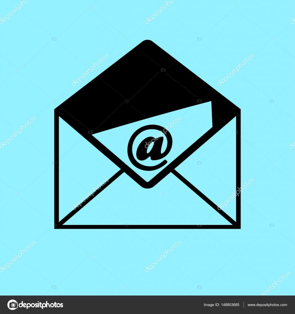 e-mail letter icon — stock vector © risovalka2015.gmail #148803685
