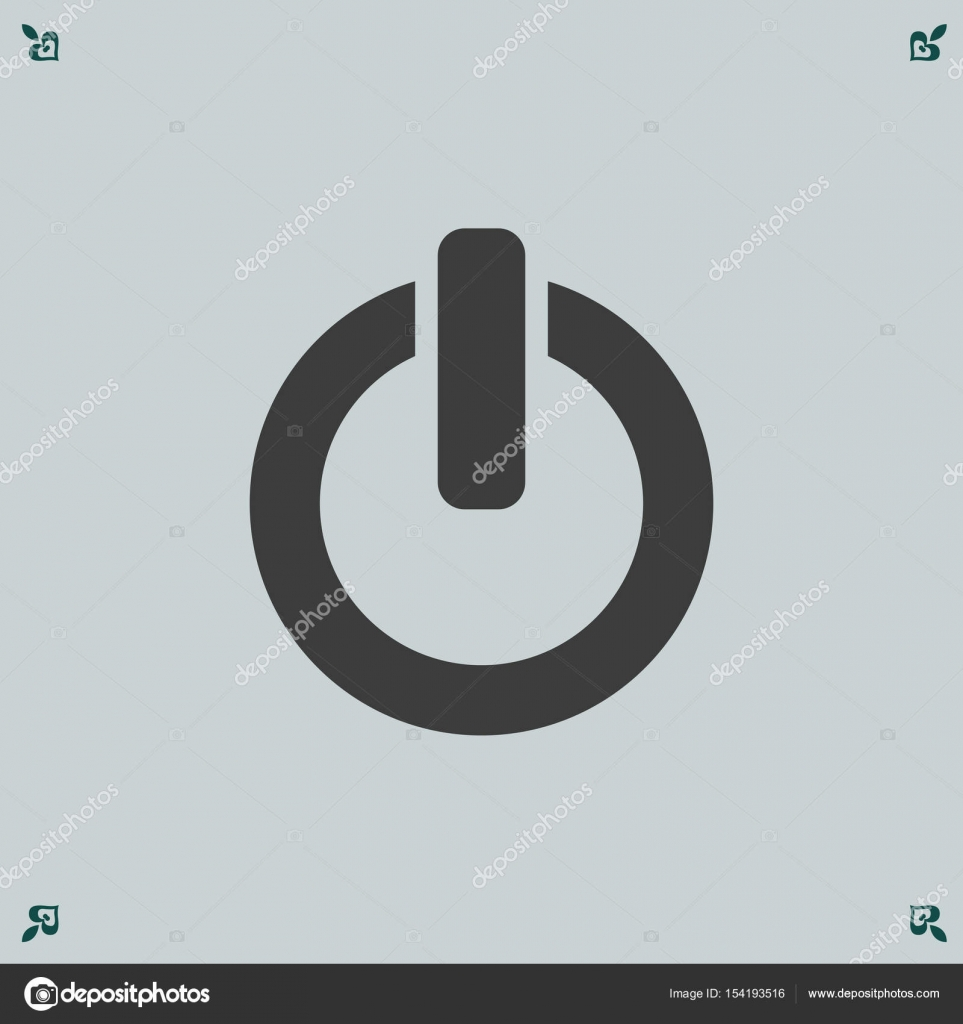 On/Off switch icon — Stock Vector © risovalka2015.gmail.com #154193516