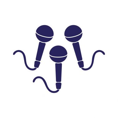 Dynamic microphones icon