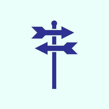 Signpost web icon