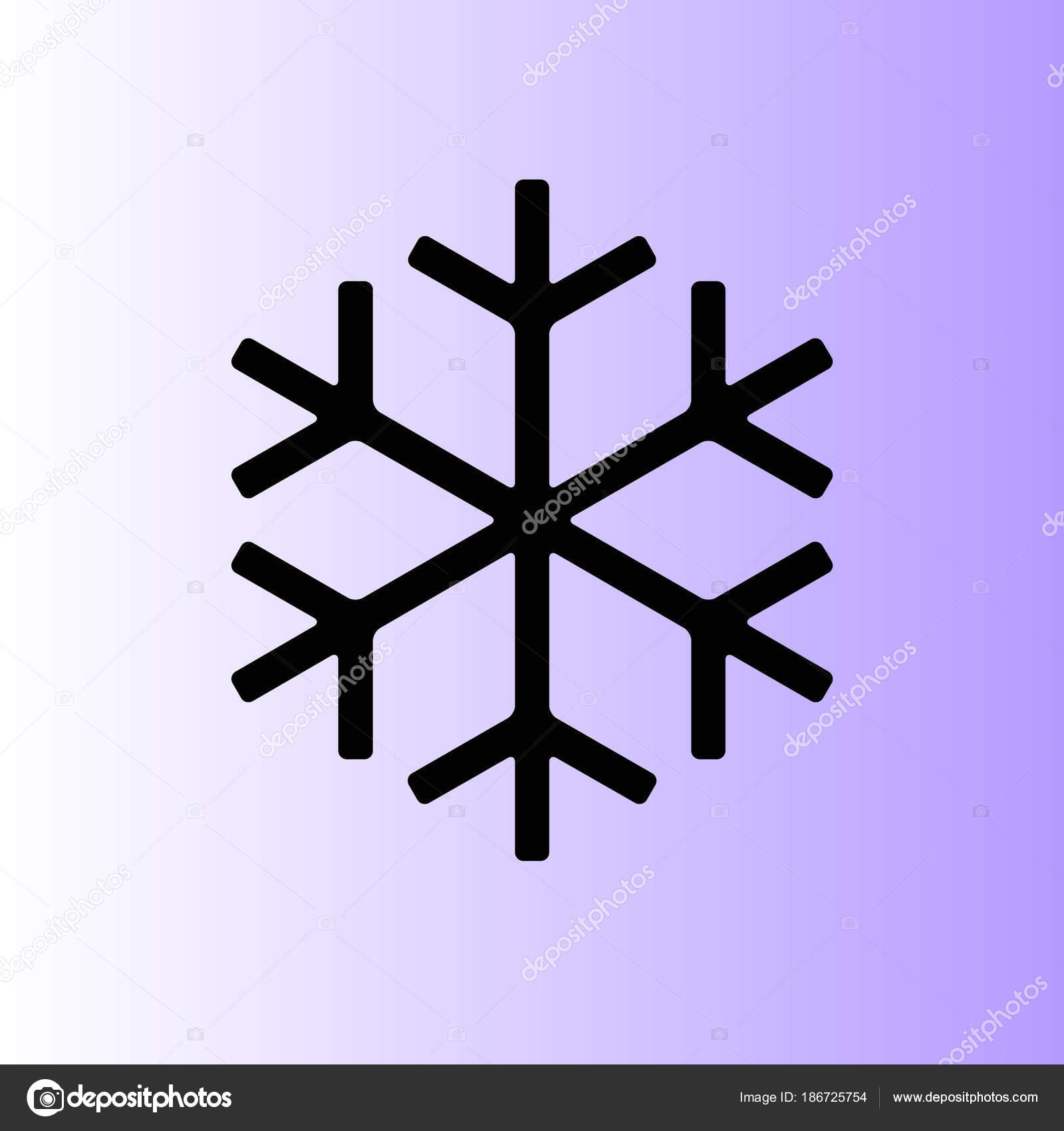 snowflake icon simple vector stock vector risovalka2015 gmail rh depositphotos com vector snowflake patterns vector snowflake generator
