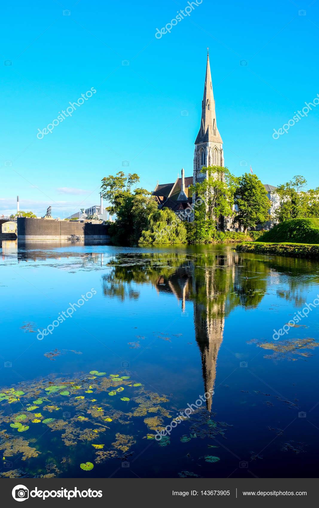 Le paysage de la ville de copenhague au danemark for Paysage de ville