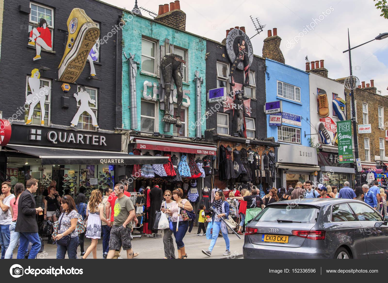 カムデンタウン, ロンドンの市場...