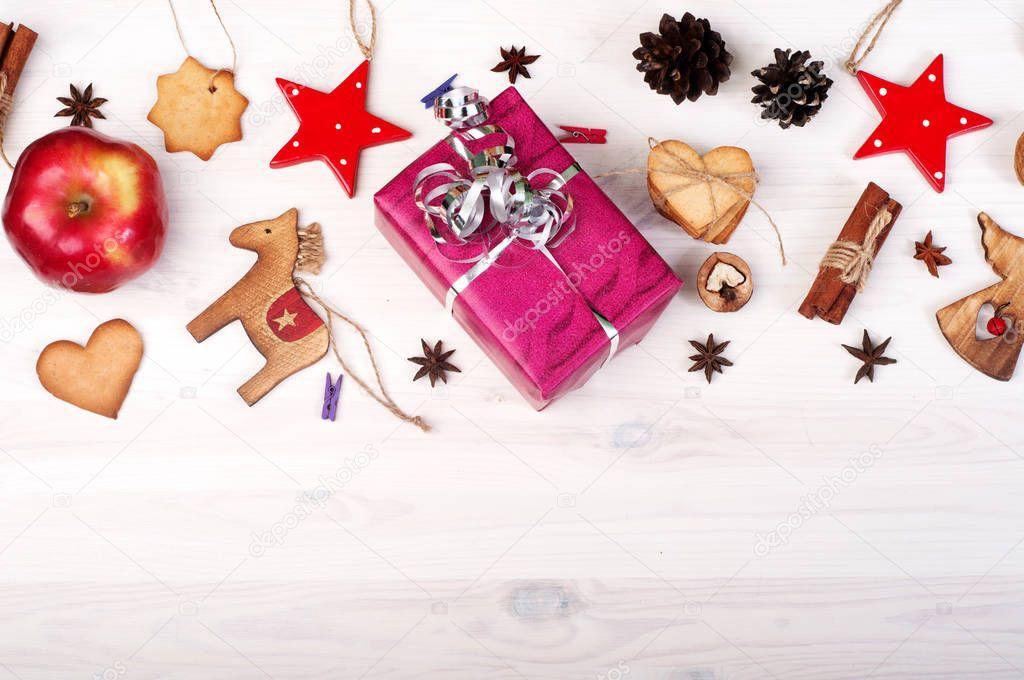 Fond D écran Vacances De Noël: Noël Et Nouvel An Fond D'écran (background). Cadeaux
