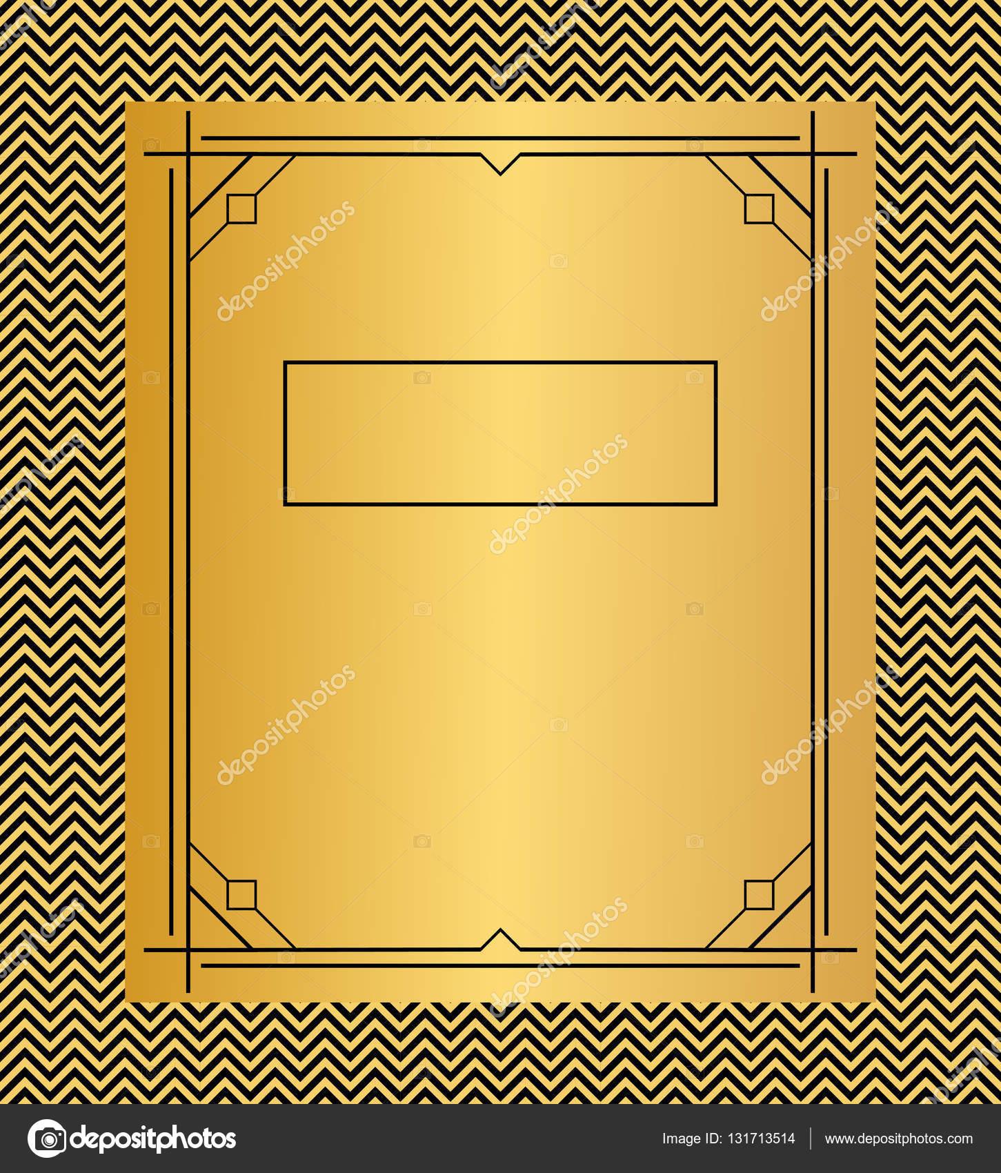Vektor-Illustration von Frames, Karten Einladung Vorlagen in der ...