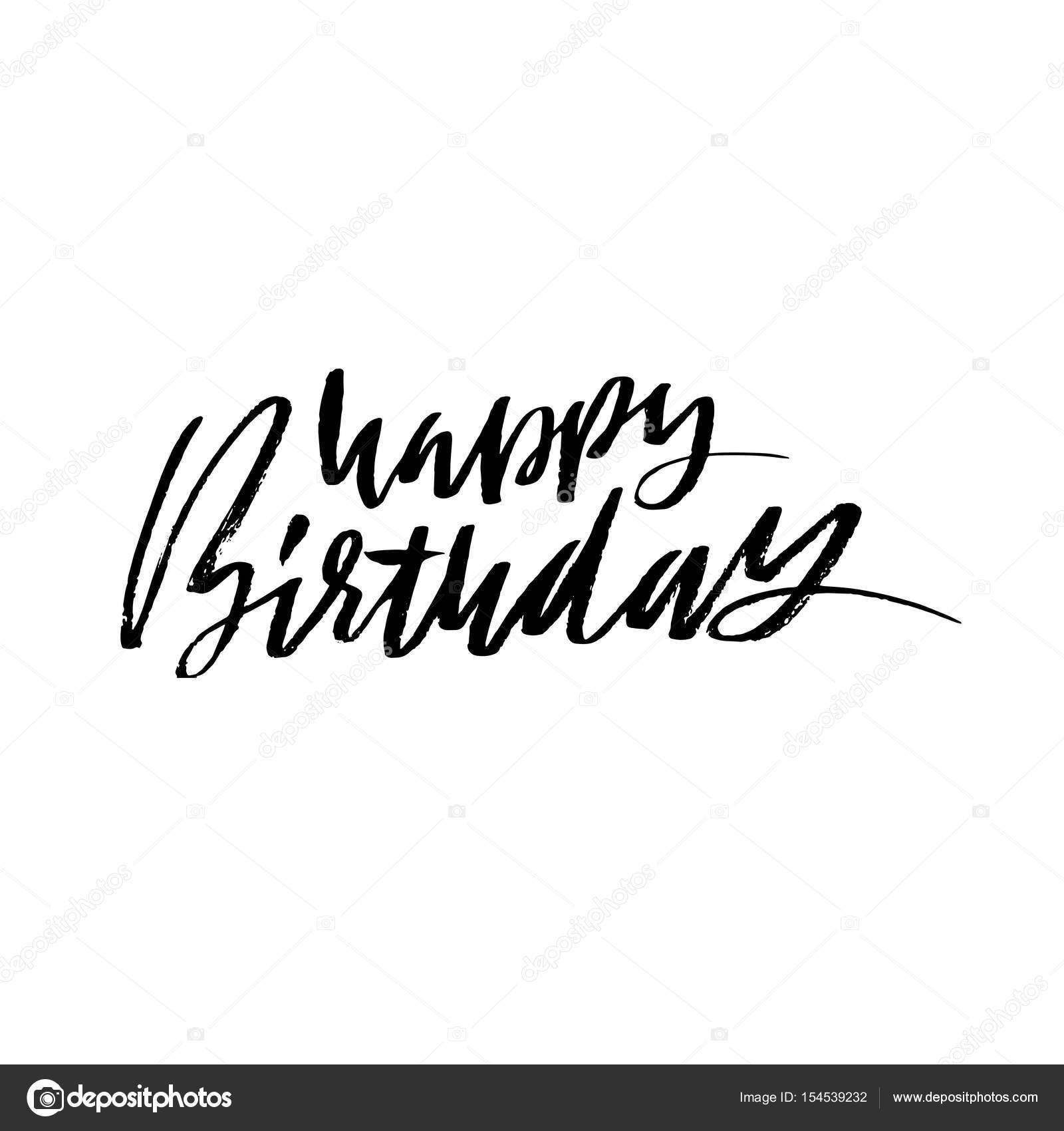 Herzlichen Glückwunsch Zum Geburtstag Moderne Trockenen