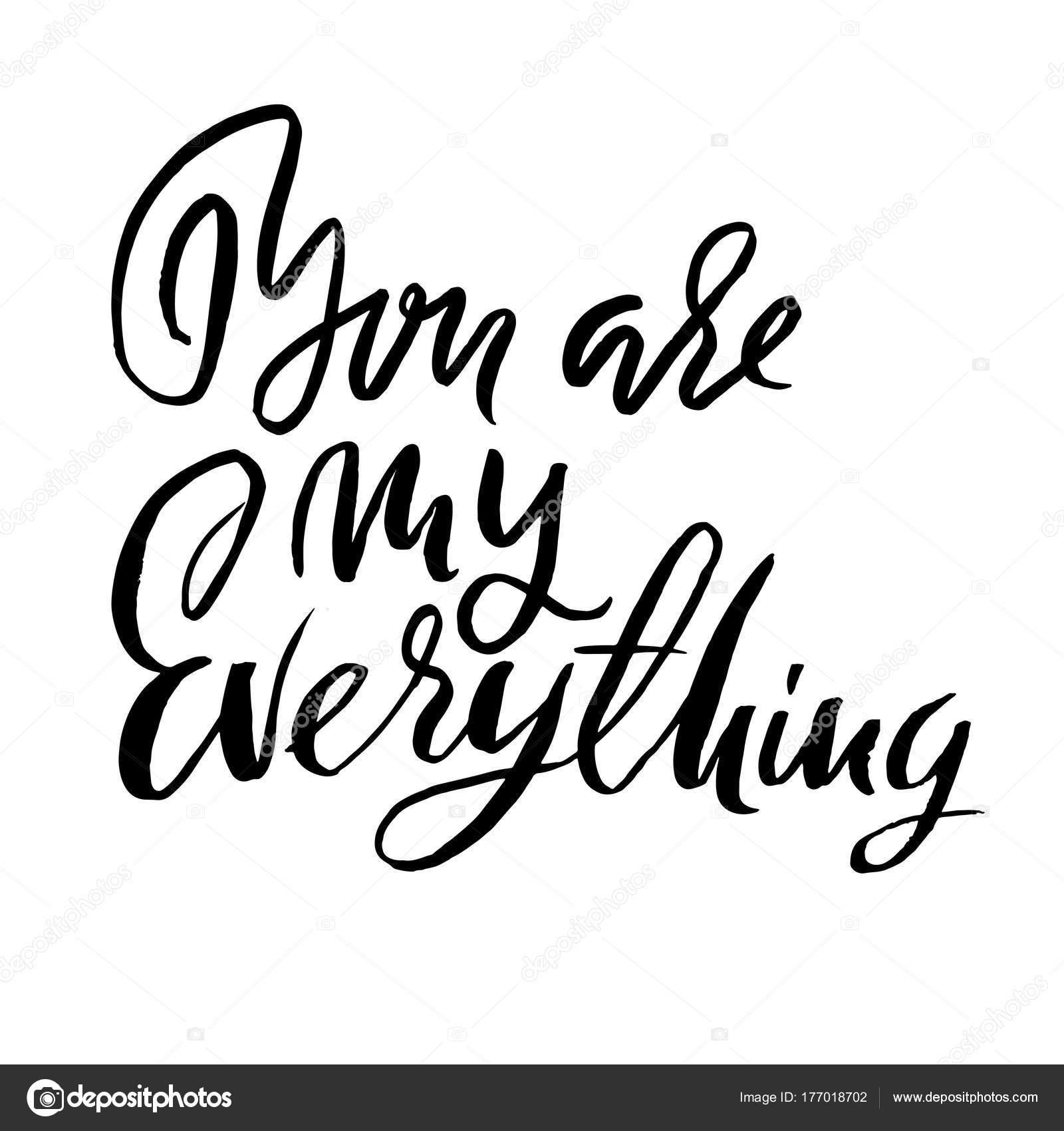 du bist mein ein und alles