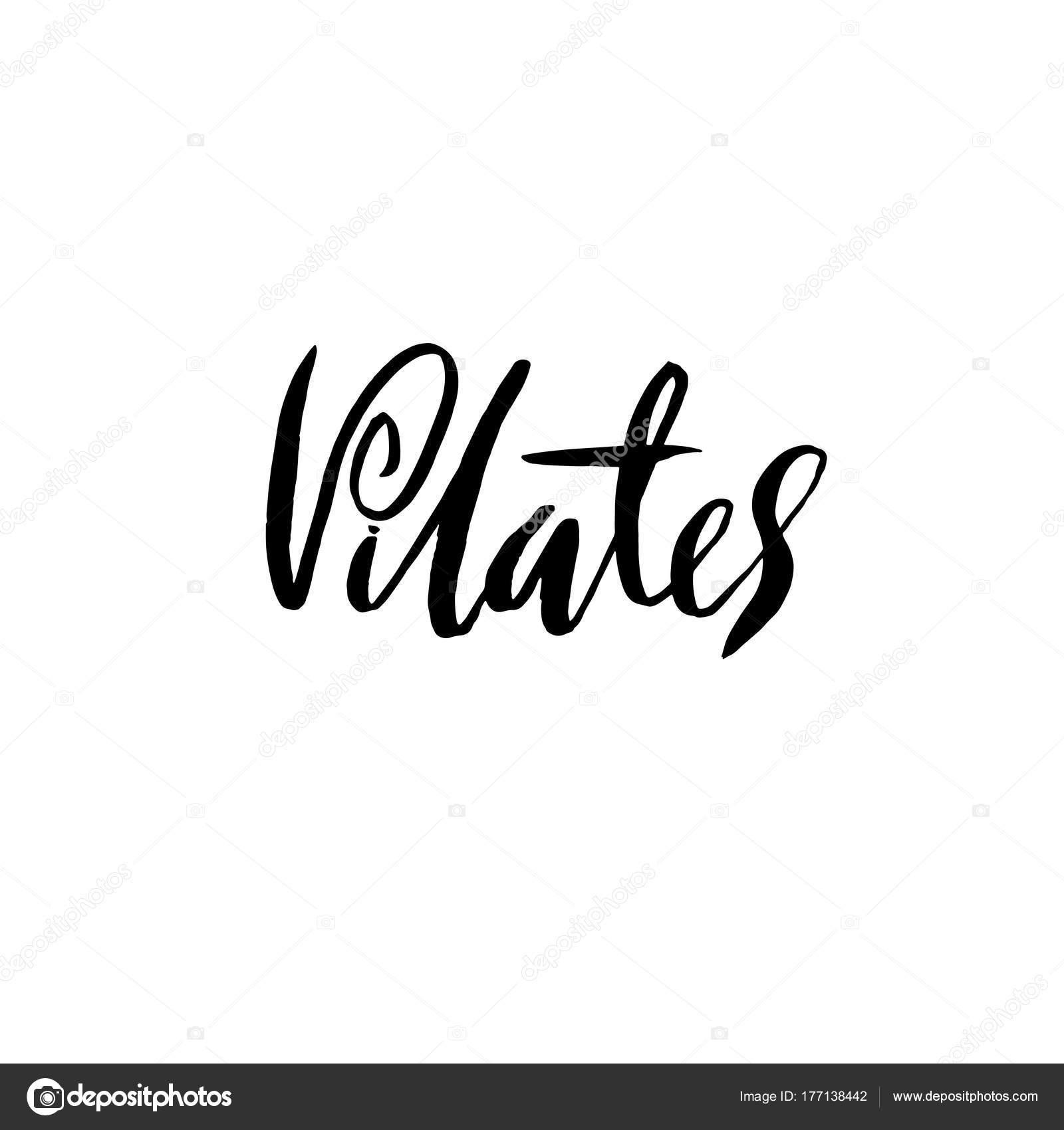 Imágenes Pilates Para Imprimir Clase De Pilates Letras