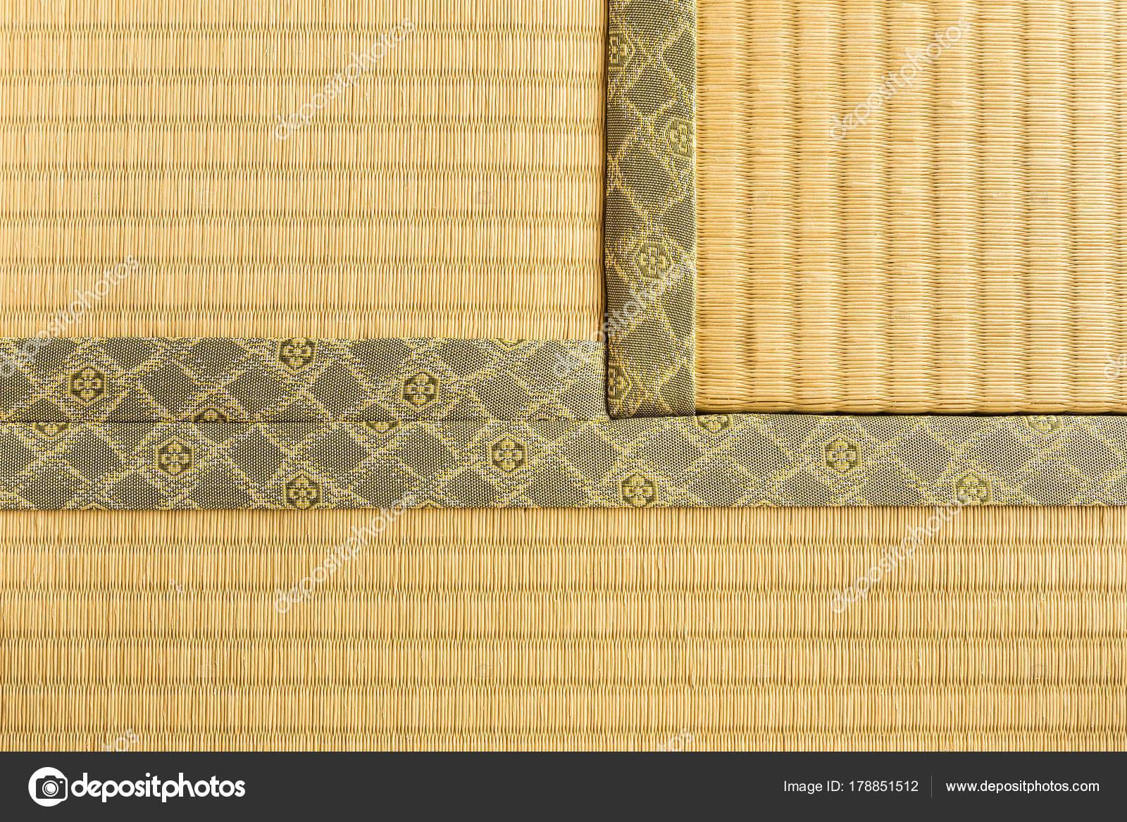 Japanische Bodenmatten drei abschnitte der tatami japanischen traditionellen zimmer