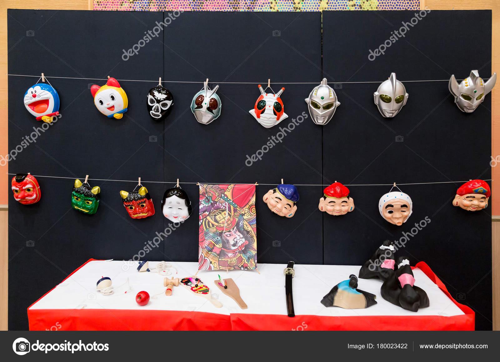 Dibujos Mascaras Japonesas Dibujos Animados Japoneses Y Mascaras