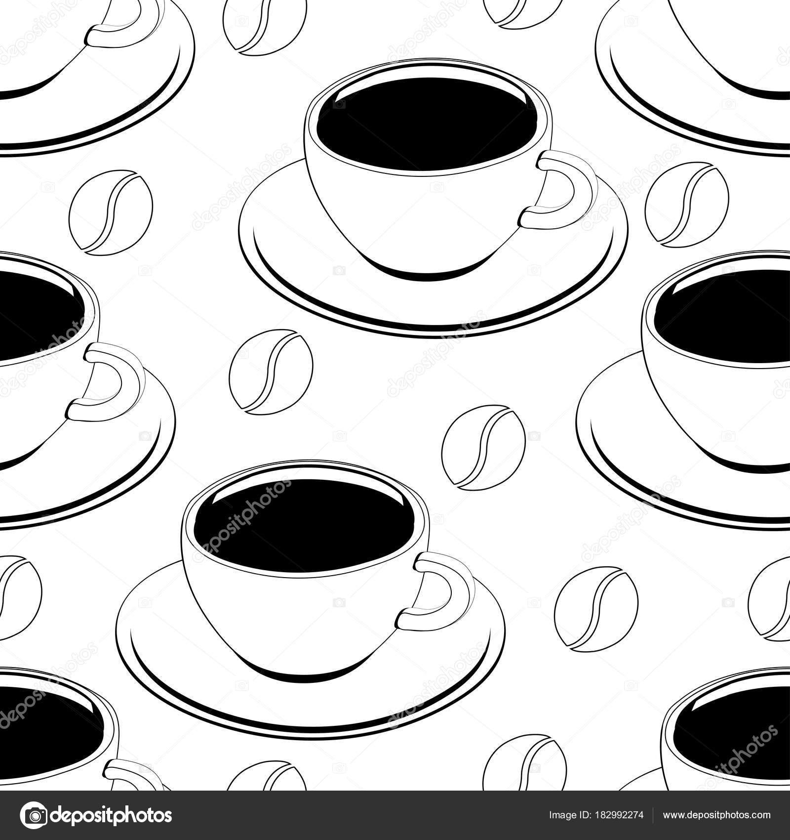 Dibujos Dibujo De Taza De Cafe Para Colorear Taza De Café