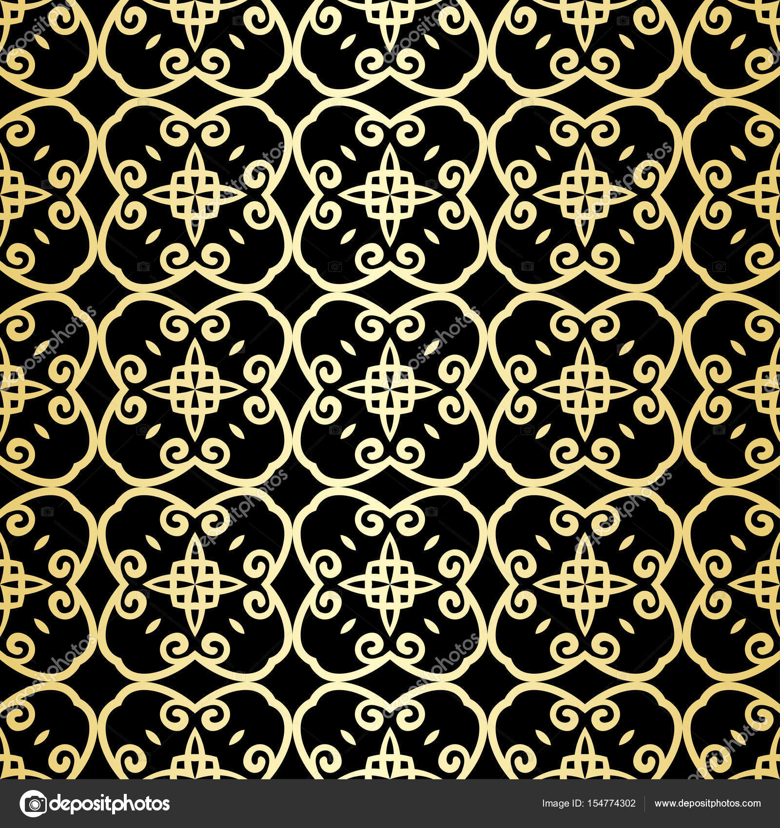 Ornamental Wallpaper Vector Luxury Background Vintage Floral