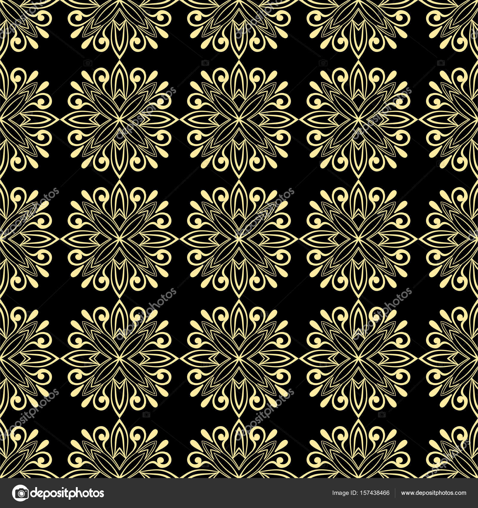 Asian print oilcloth