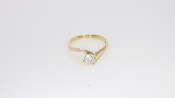 Yellow Solitair Diamond Ring Carat Diamond