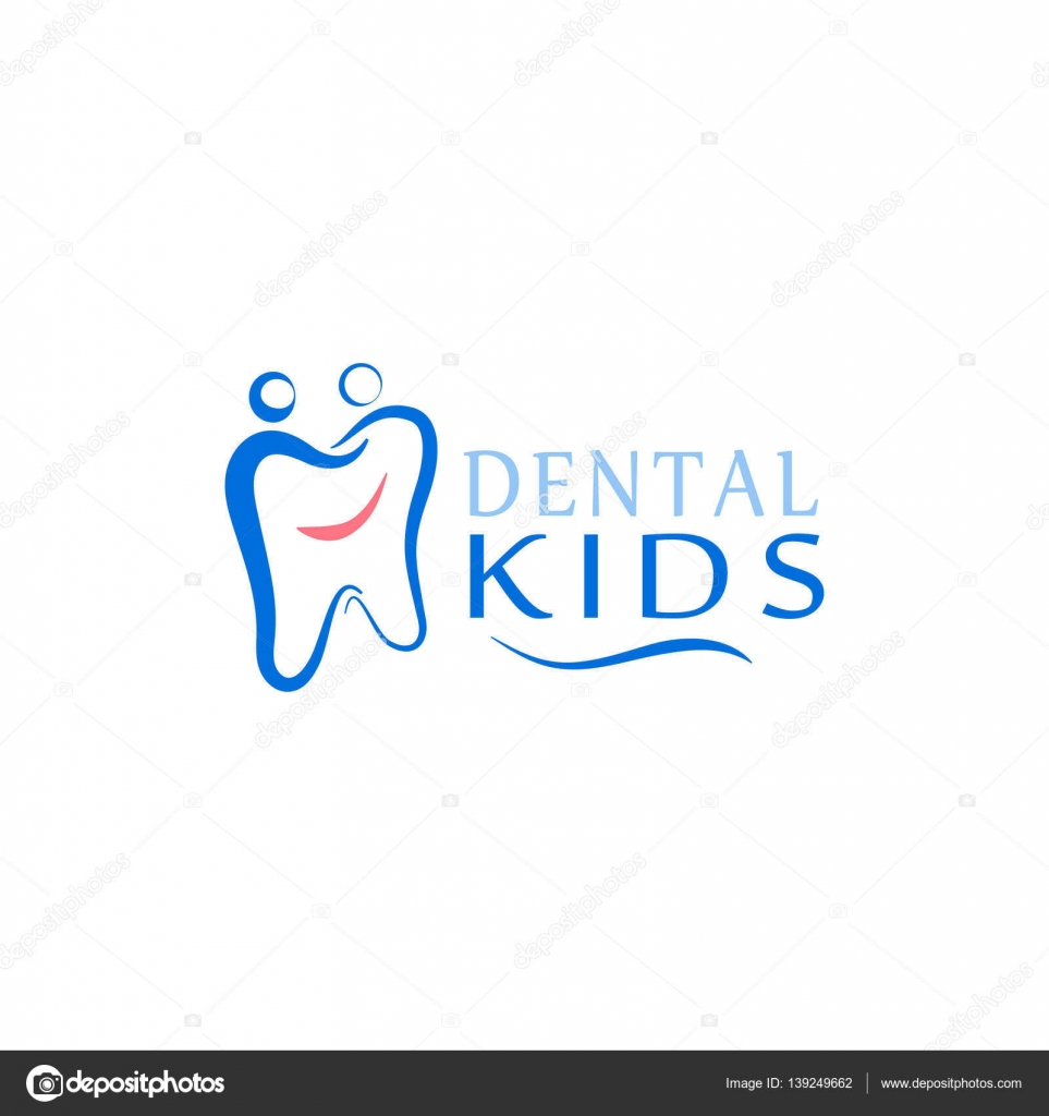 Logo Dental Care Clinic Dentistry For Kids Teeth Abstract Icons Stock Vector C Vladneshte Gmail Com 139249662