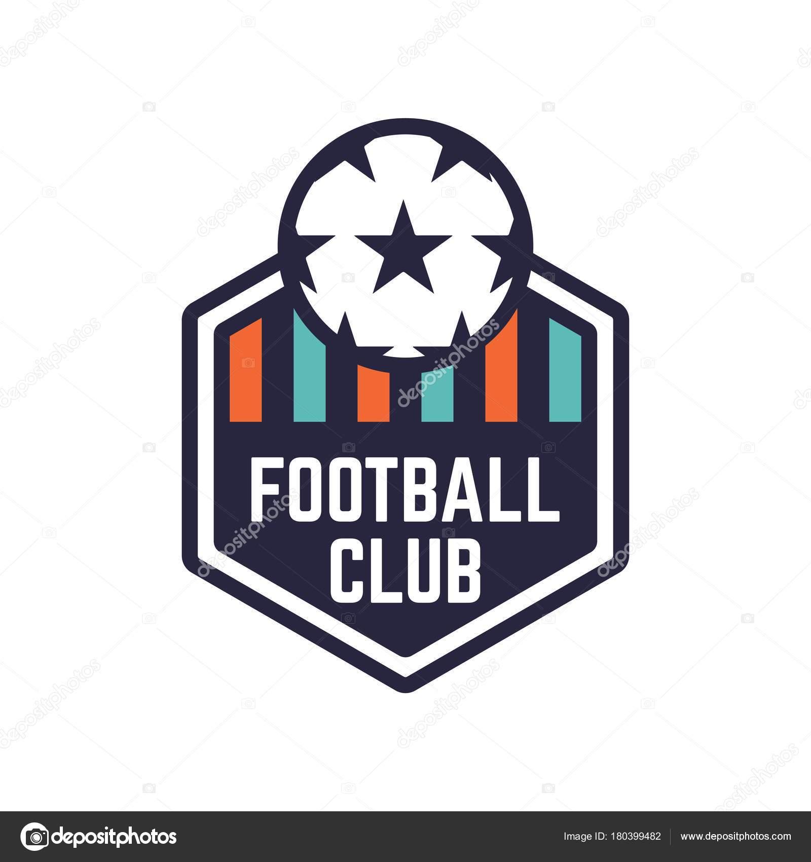 Soccer Or Football Club Logo Or Badge Stock Vector Revoltan