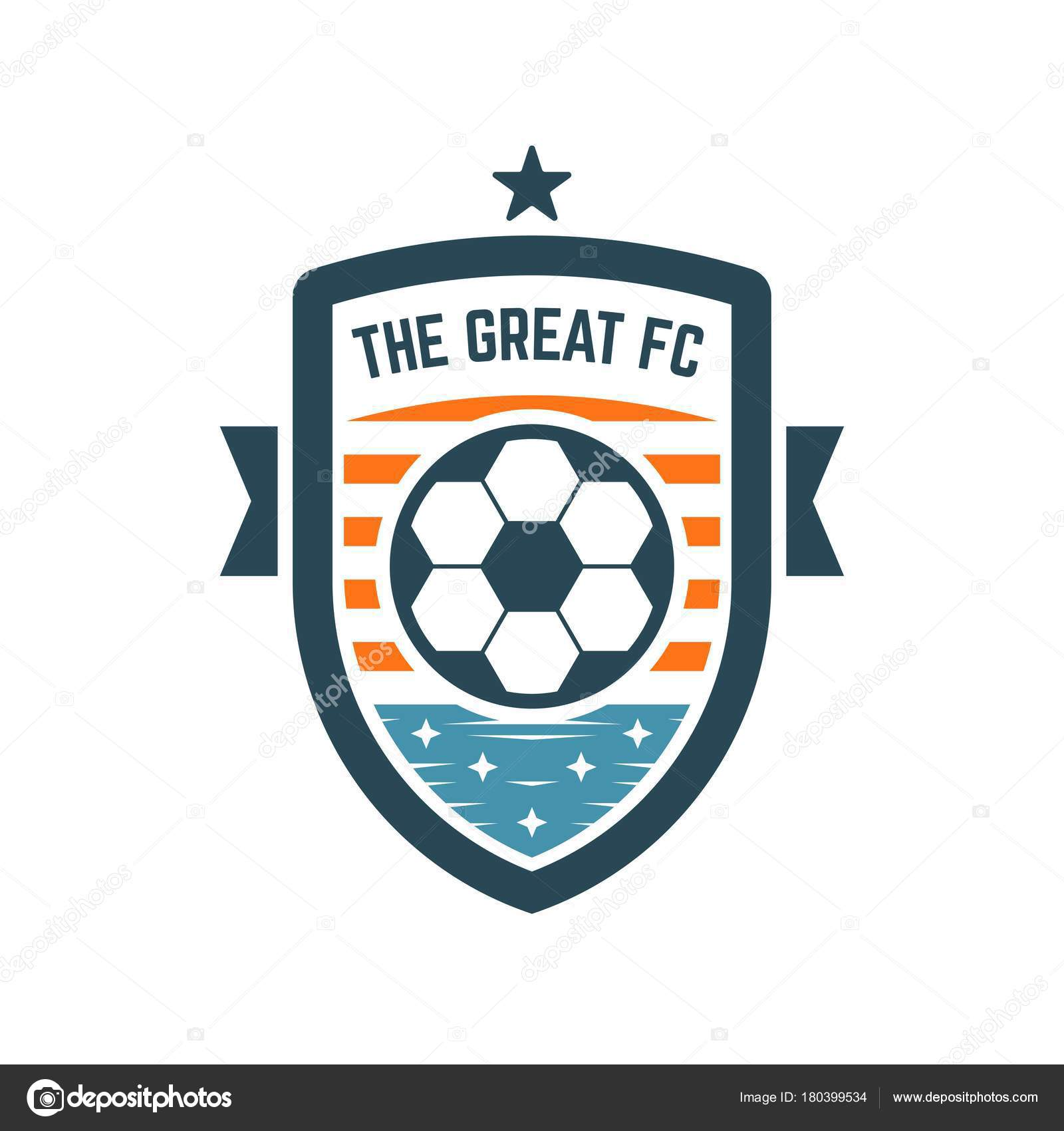 Soccer or football club logo or badge stock vector revoltan soccer or football club logo or badge football logo templates vector by revoltan maxwellsz