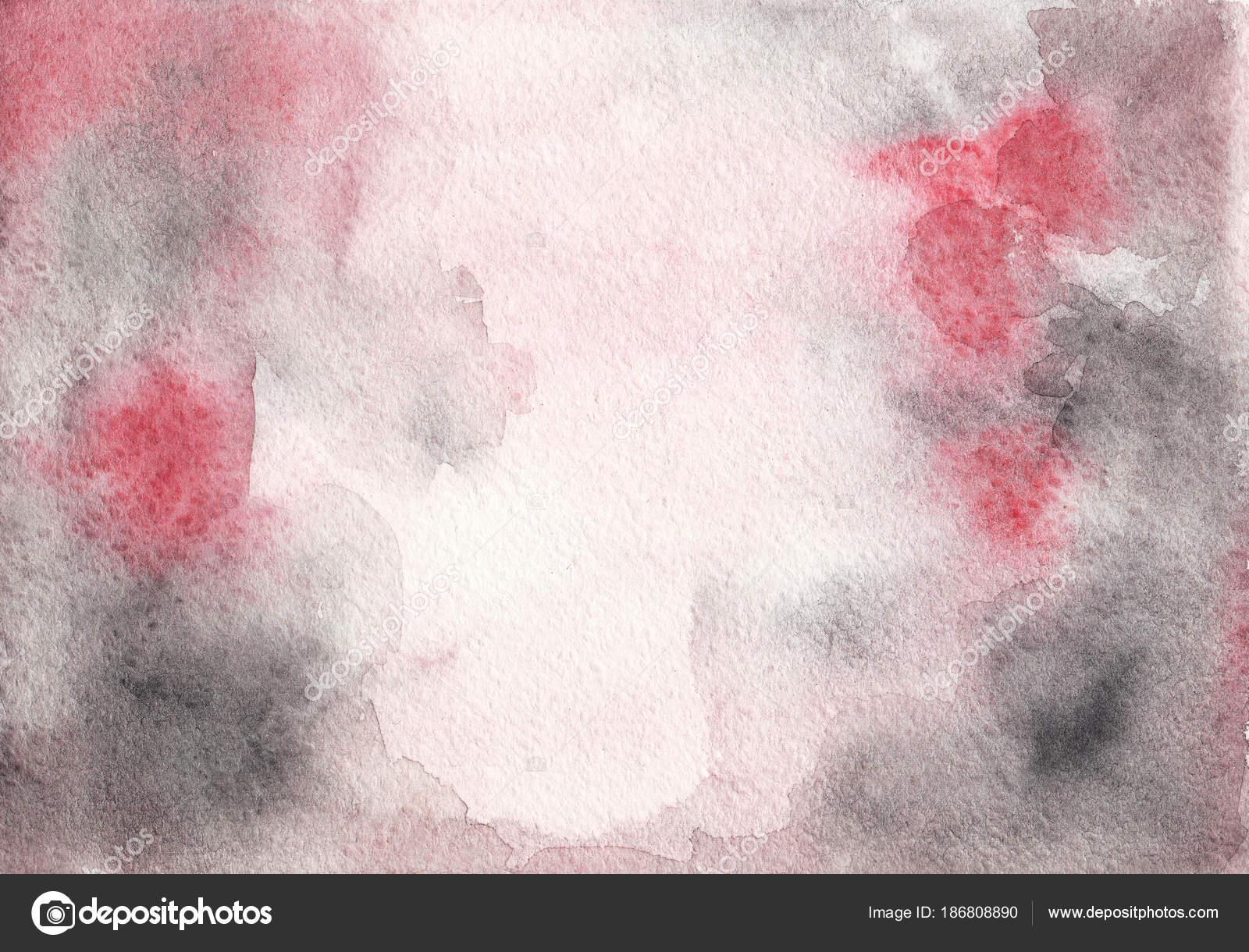 Struttura Dell Acquerello Astratto Rosa Grigio Sfondo Disegno Foto