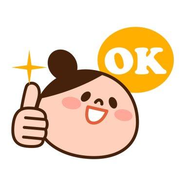 Women's OK sign