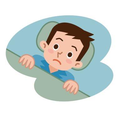 Men not sleep in insomnia