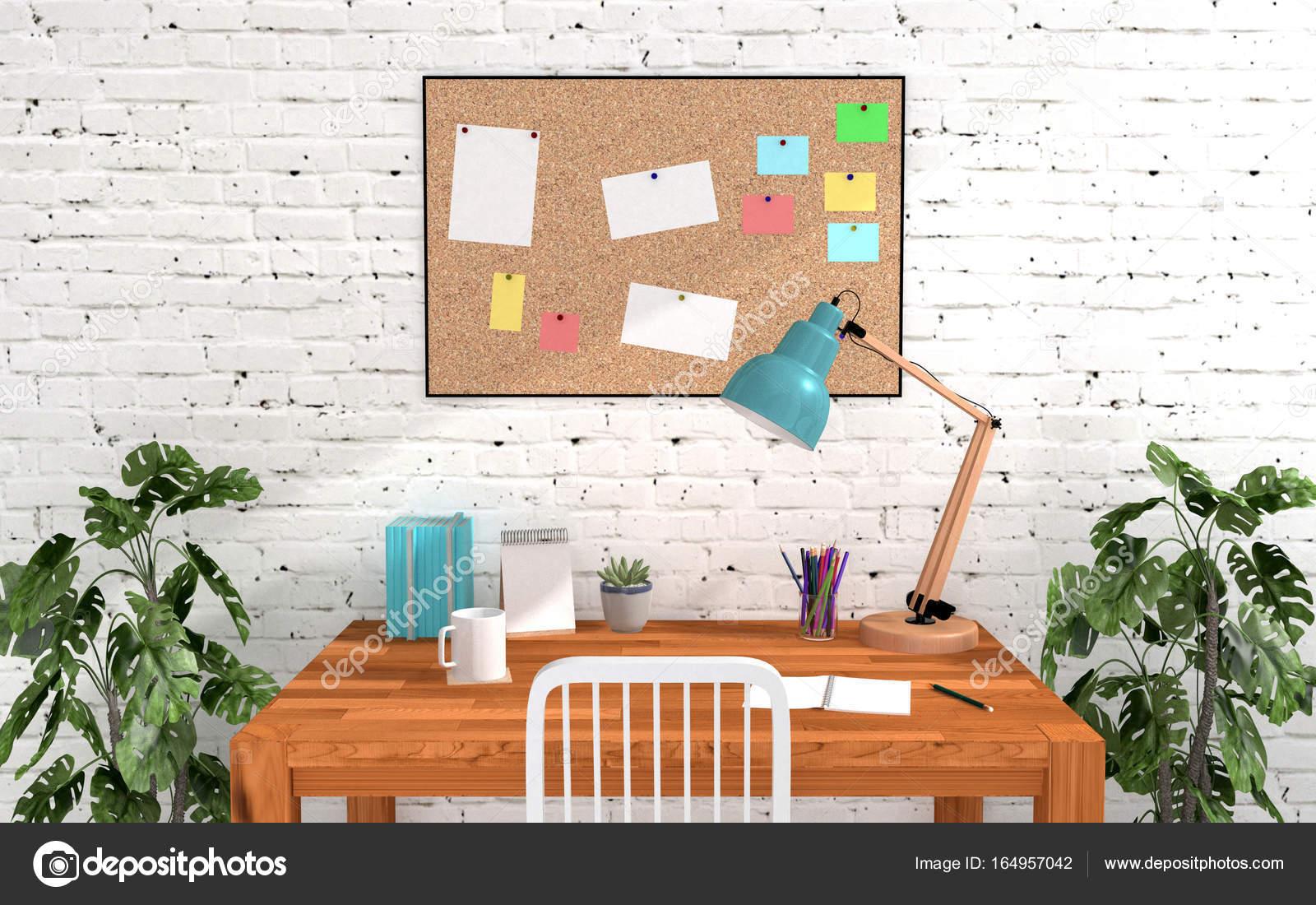 Schreibtisch pinnwand - Pinnwand mit ablage ...