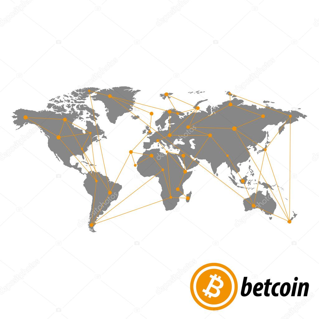 Bitcoin icon flat art web www mobile app sign image grey bitcoin icon flat art web www mobile app sign image grey similar world map isolated on black background vector by leberus777ail gumiabroncs Gallery