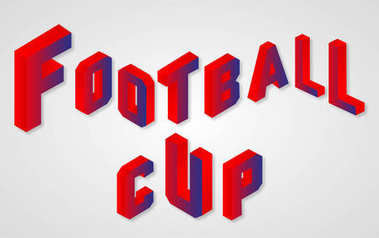 Football 2018 world championship cup background soccer 3d vector