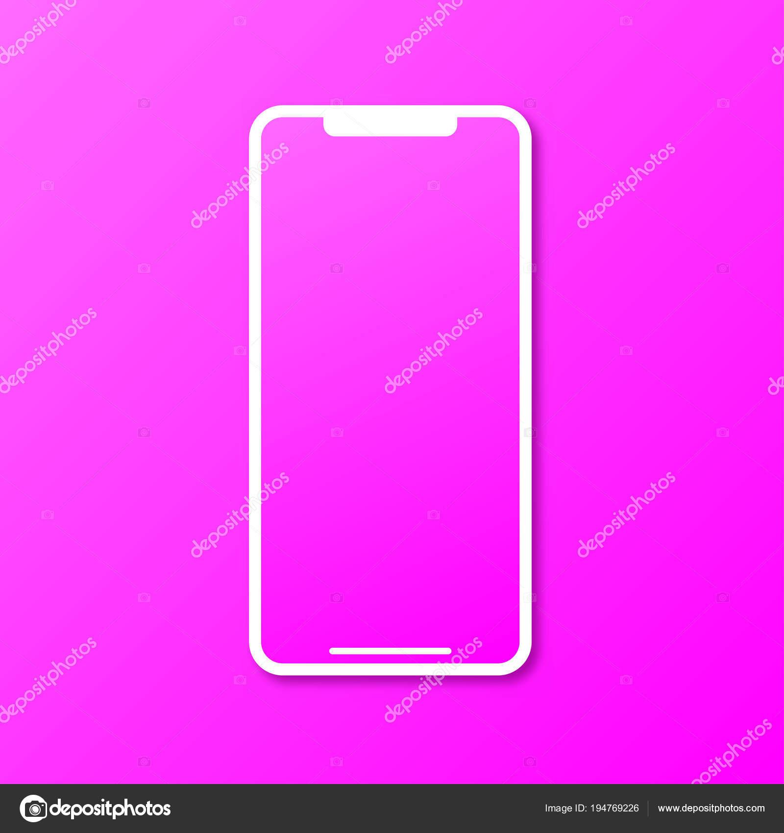 Illustrazione Sfondi Per Telefono Rosa Telefono Rosa In Un Nuovo