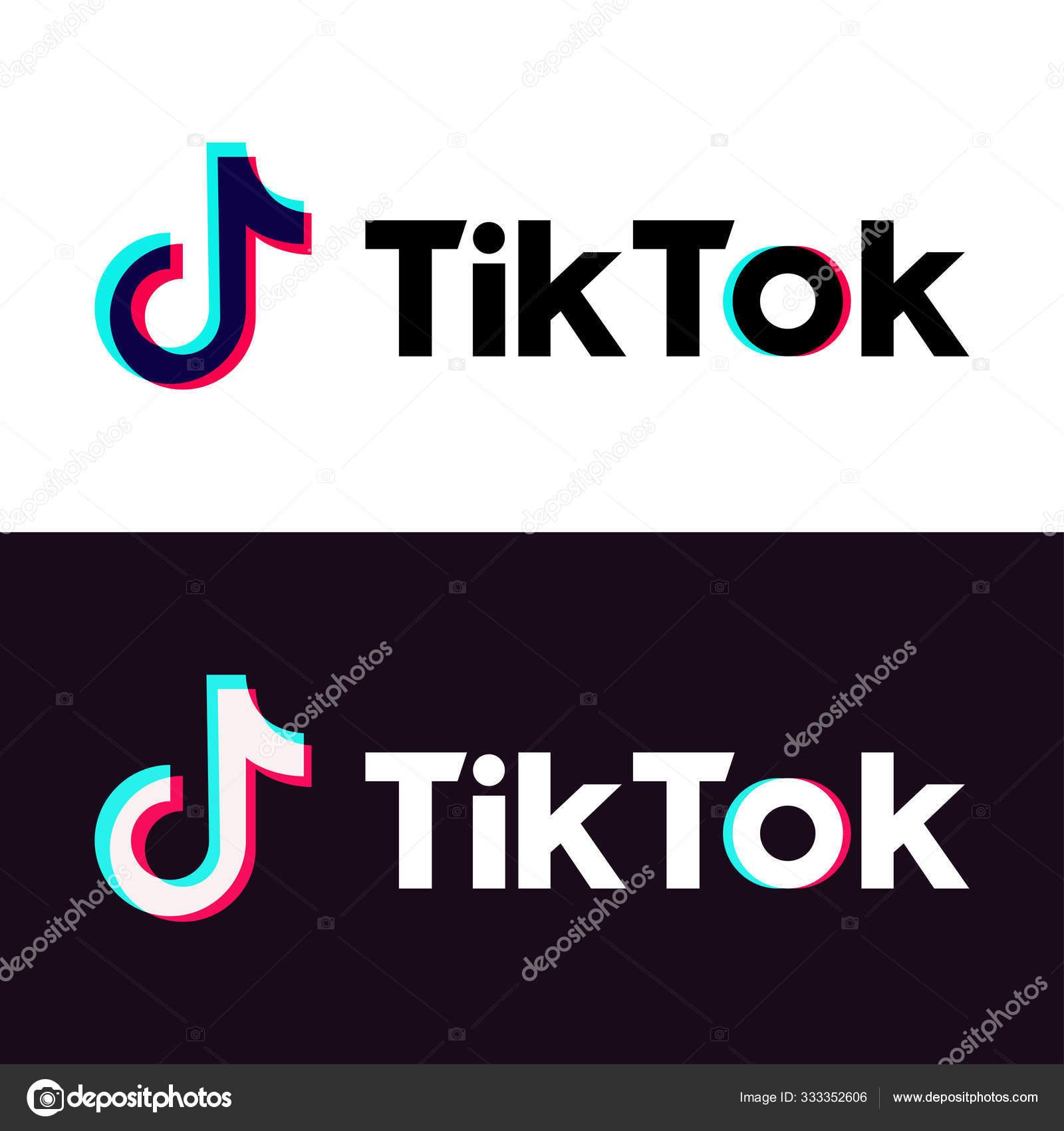 Tiktok Stock Vectors Royalty Free Tiktok Illustrations Depositphotos