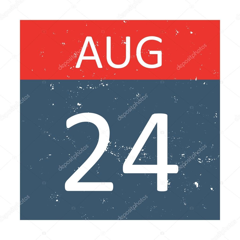 Kalender-Icon-Vektor isoliert — Stockvektor © luplupme.gmail.com ...