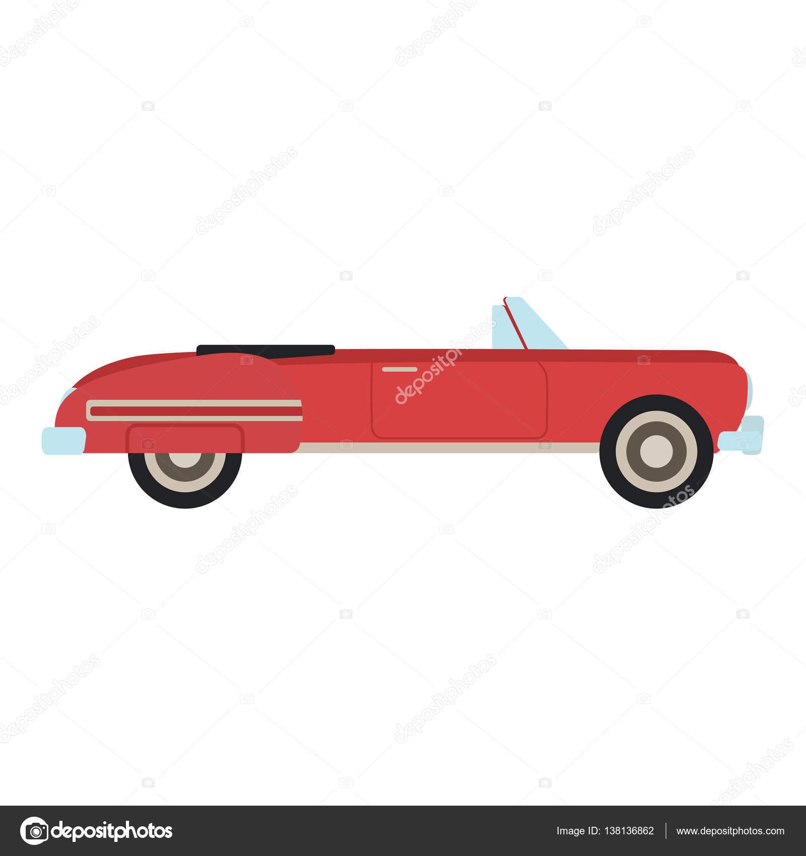 Retro Auto-Vektor-illustration — Stockvektor © luplupme.gmail.com ...