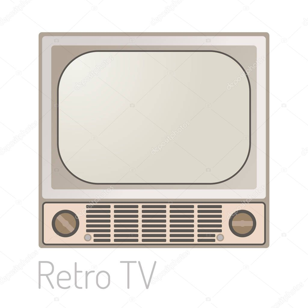 Tv Moniteur Vintage Mod Le Dispositif Electronique Technologie  # Maison En Ecran Plasma