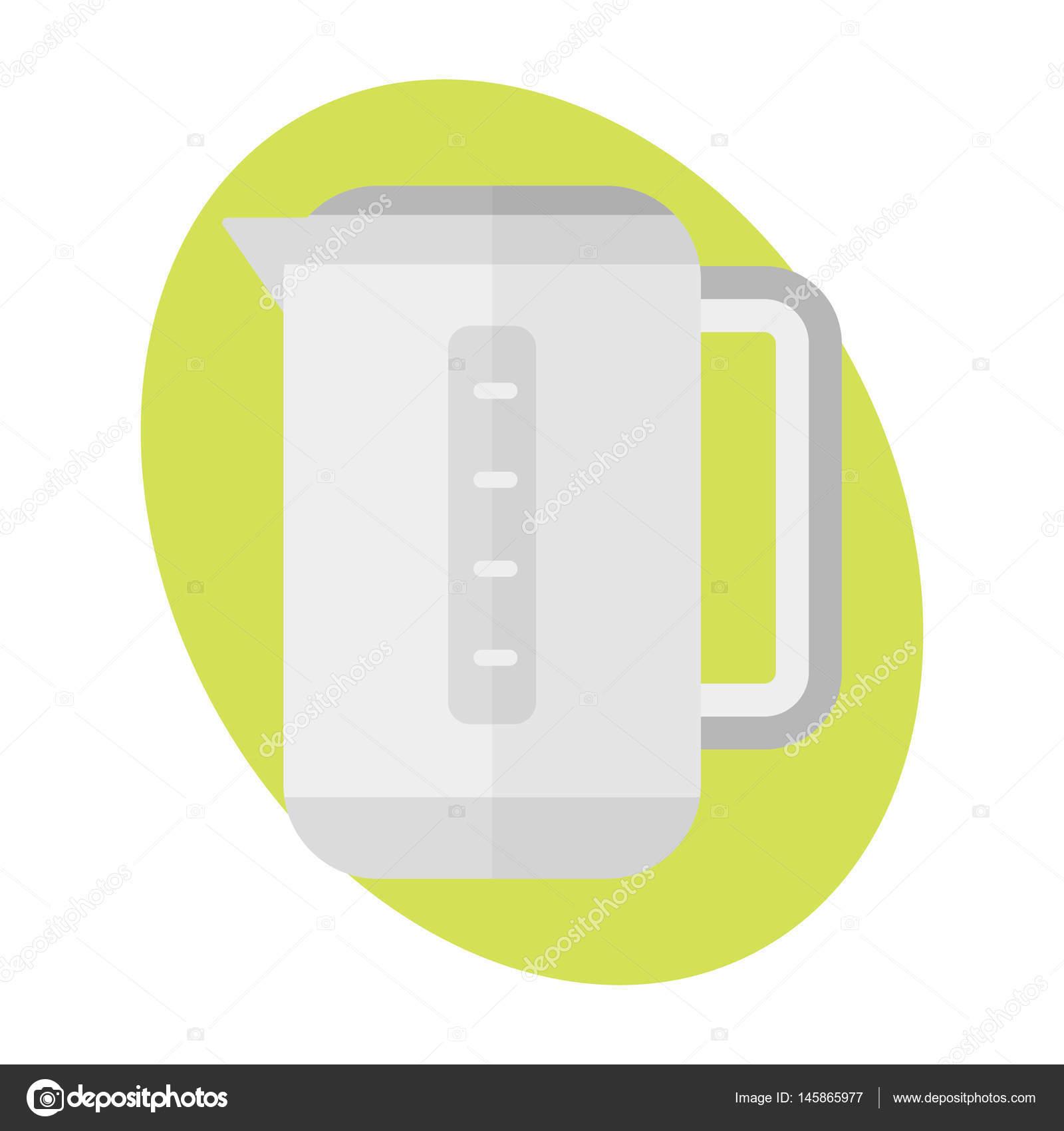 Teekanne Icon Küche Getränke heiß Zeichen Wasserkocher Essen ...