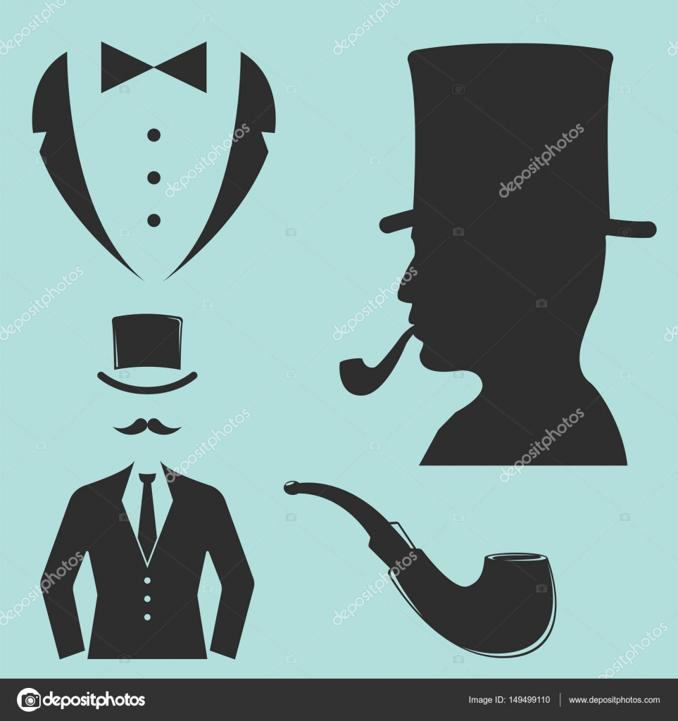1029582b92a2ad Vintage style design hipster gentleman symbol vector illustration antique  graphic design retro element. Premium quality man shop classic fashion  moustache ...