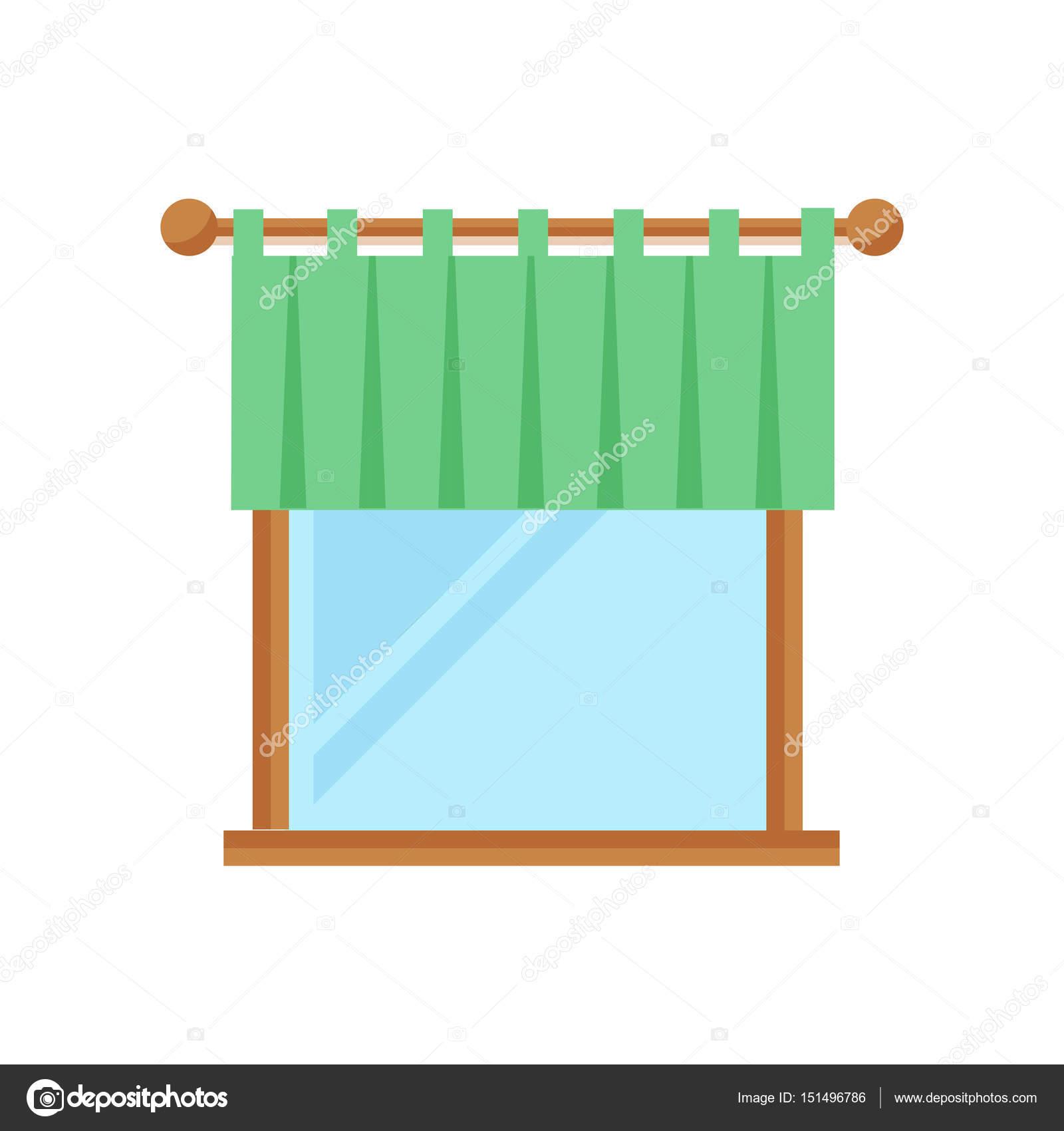 Haus Fenster Element flach Stil Frame inländischen zeitgenössische ...