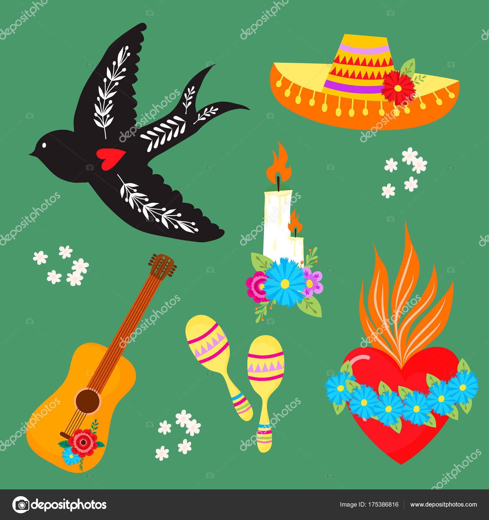 Catrina Dibujo A Color Símbolos De Colores Dia De Los Muertos Día