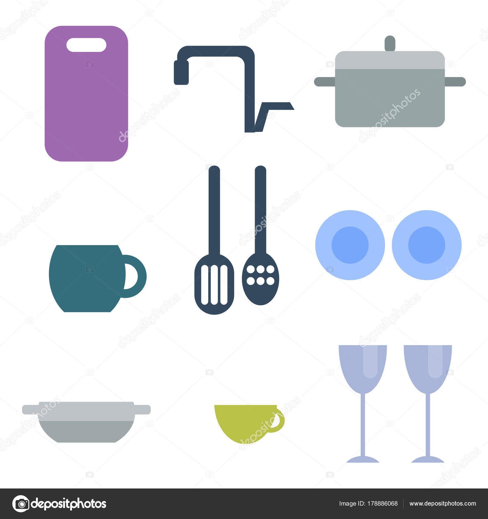 Küche Geschirr essen Geschirr Kochen Batterie häusliche Geschirr ...