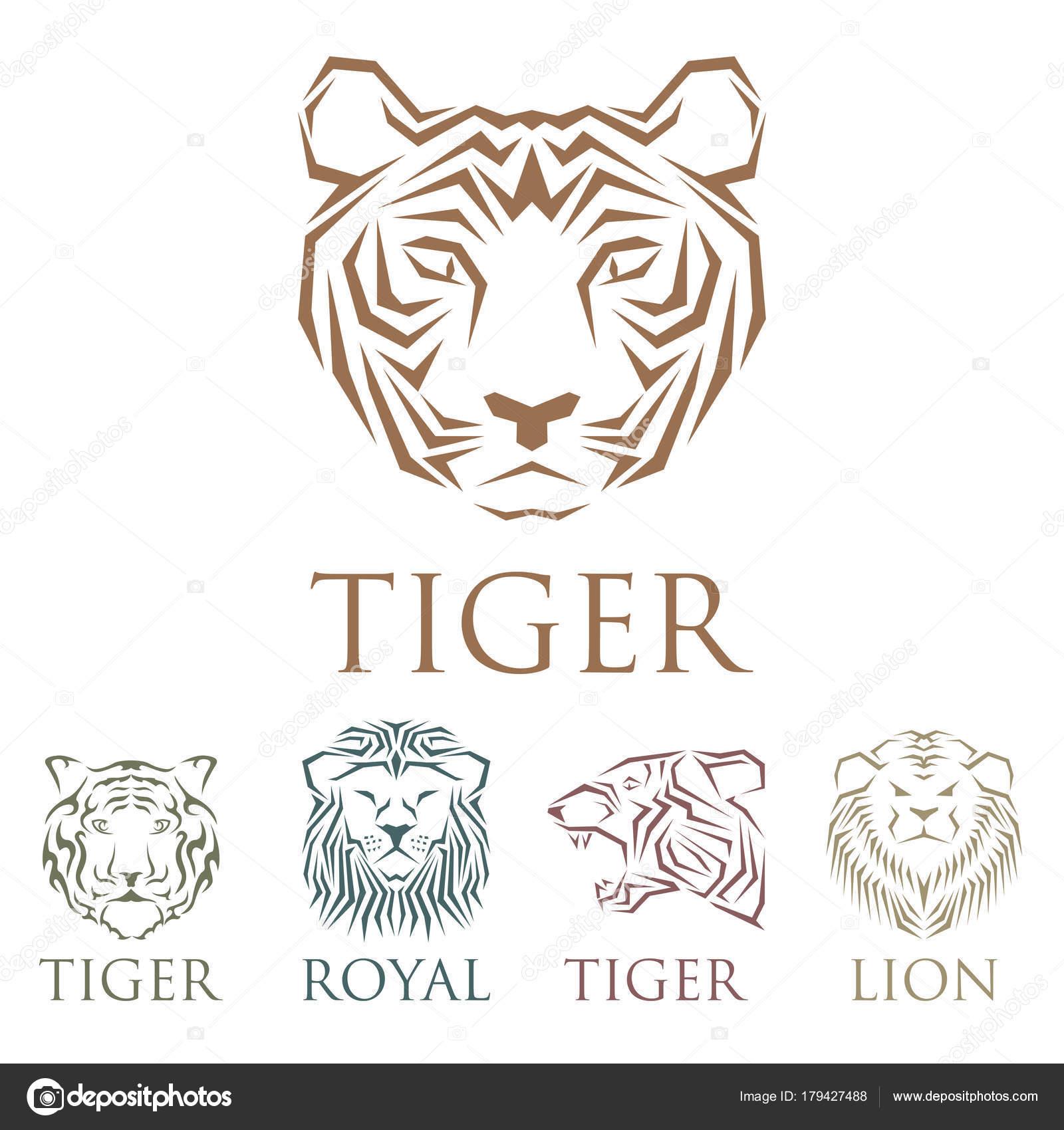 Imágenes Tigres Para Dibujar Reales Divisa Real Cabeza De Tigre